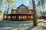 Beavers Bend Luxury Cabin Rentals - Cornerstone - Front