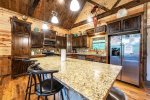 Beavers Bend Luxury Cabin Rentals - After the Sunset - Dining Table