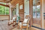 Beavers Bend Luxury Cabin Rentals  Acadian Cottage  Master King Bedroom