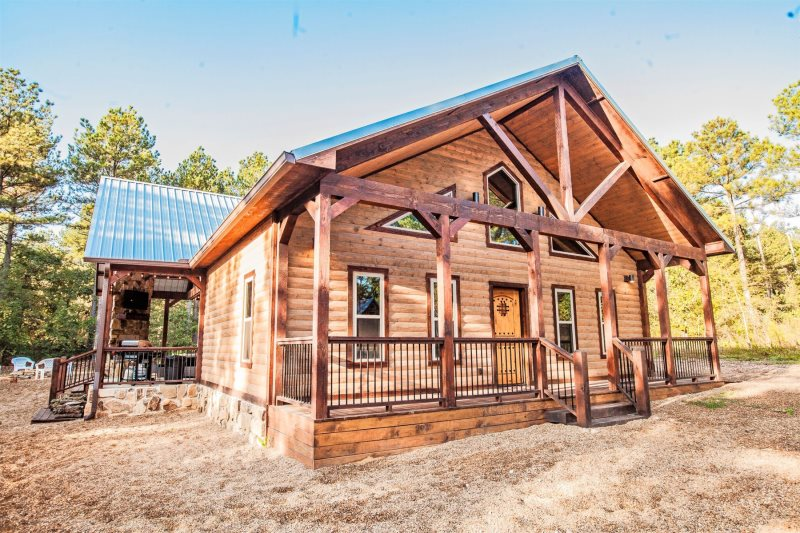 Knotty And Nice Beavers Bend Luxury Cabin Rentals Broken