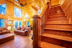Cross Timbers - Beavers Bend Luxury Cabin Rentals - Stairs