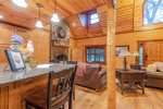 Lakeview - Beavers Bend Luxury Cabin Rentals - Kitchen
