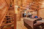 Lakeview - Beavers Bend Luxury Cabin Rentals - Main Level