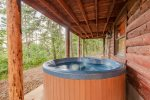 Lakeview - Beavers Bend Luxury Cabin Rentals - Hot Tub