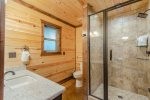 Downstairs King Suite 2  Beavers Bend Luxury Cabin Rentals