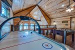 Loft Balcony  401kation Lodge  Beavers Bend Luxury Cabin Rentals