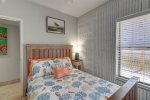 master suite, vanity, mirror, jacuzzi hot tub, glass block