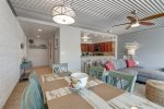 master suite bathroom, glass block, shower