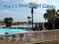 Mary's Beachfront Condo