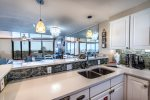 Upgraded kitchen loaded with amenities and supplies to get your vacation started