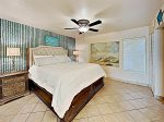 Sleep in king size style with a vacation rental condo Port Aransas, Texas