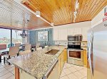 Upgraded kitchen and kitchen amenities for your Port Aransas vacation rental