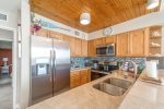 Dining for four in this one bedroom open concept living space