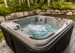 Accommodating hot tub