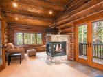 Reading nook & fireplaces in master suites