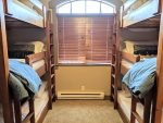 Triple bunks with twin sized mattresses