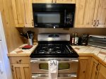 5-burner Gas Range with Double Oven