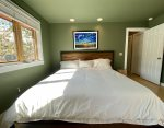 Master Bedroom with King Bed - Located on Upper Level