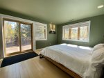 Master Bedroom with Door to Private Deck