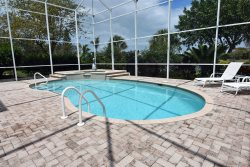 Twin Lakes Home | Three bedroom home with private pool and lake view
