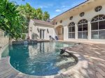 Casa Captiva!  4 Bedroom, 4 Bath Pool Home just a few houses from private beach.