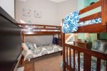 5th Bedroom Lower Level with two Double Bunk Beds
