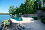 Outdoor Pool and Hot Tub at Waters Edge