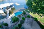 Waters Edge Pool and Hot Tub