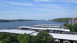 Palisades Front Level Condo with Commanding Main Channel View