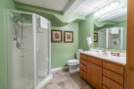 Lower Level Bunk Room with 2 Twin over Double Bunk Beds