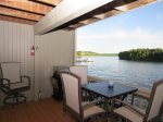Private Deck at Waters Edge