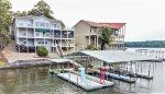 Lakefront 3 Level 7 Bedroom House Sleeps 20 with Fantastic Dock!