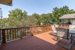 Upper Level Open Air Deck with Gas Grill