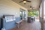 Lakeview Upper Level Deck with Gas Grill