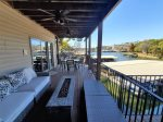 Middle Level Lakeview Deck with Fire Pit House 1