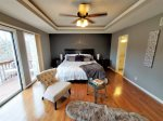 King Bedded Lakeview Master Suite House 2