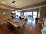 Billiards Table Lower Level House 2