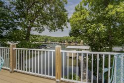 Two Level 3 Bedroom Lakefront House with Awesome Outdoor Space and Private Dock
