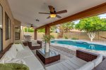 Sleek & Spacious Home with Luxury Furnishings and a Private Pool