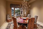Large dining space with ample seating