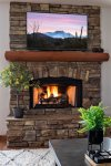 Indoor fireplace - Cable TV