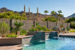 Take laps in the heated pool with views of Squaw Peak