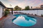 Heated swimming pool $85 per night