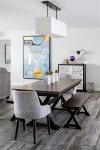 Dining table to enjoy home cooked meals