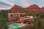 The Hideaway in Sedona - Private Heated* Pool, Spa, Hiking, & Views!