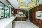 Breakfast bar and kitchen with access to lanai