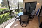 Screened in lanai