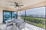 Enjoy dolphin, manatee and shore birds from your lanai