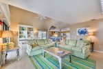 SOUTH SEAS BEACH HOME 6    JULY 3-8 AVAILABLE!  3 BEDROOM BEACHFRONT