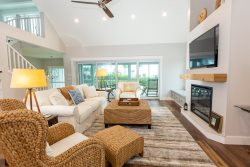 BRAND NEW HOME TO RENTAL PROGRAM- EAST END HOME ON SANIBEL WITH GULF VIEWS, BEACH ACCESS, PRIVATE POOL/HOT TUB AND DOCK! CALL FOR DETAILS- BADGER BEACH HOME